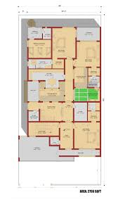 house floor plan by 360 design estate 1 kanal