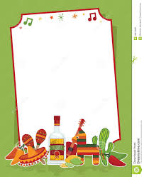 christmas cocktail party clipart mexican fiesta borders templates