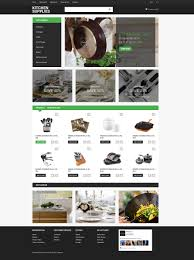 kitchenware opencart template