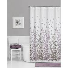 Silver And White Shower Curtain Nice Decoration Purple And Grey Shower Curtain Pretty Design Ideas