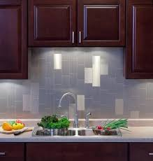 Peel And Stick Backsplashes For Kitchens Metallic Backsplash Tiles Peel Stick Remarkable Modest Interior