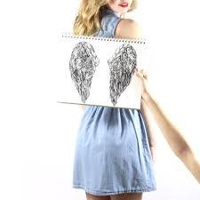 angel wings kelsey montague art