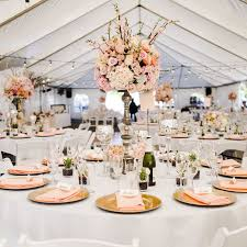 lighted centerpieces for wedding reception dlux entertainment outdoor wedding wedding reception pink coral