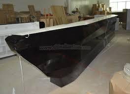 Front Reception Desk Modern Ship Shape Design Front Reception Desk Counter Buy Ship