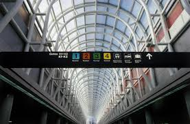 Chicago Ohare Gate Map by Chicago O U0027hare International Airport