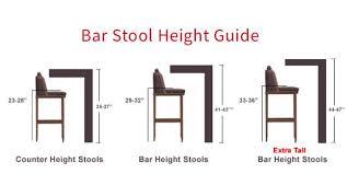 kitchen island stool height sofa surprising extraordinary bar stool heights amusing