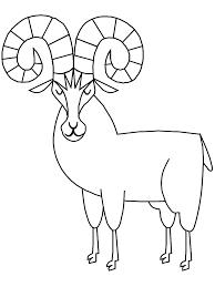 bighorn sheep coloring pages free printable bighorn sheep