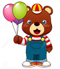 teddy balloons illustration of teddy with balloons royalty free cliparts