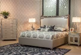 Aico Bed Beds Bel Air Park Upholstered Bed By Michael Amini 9002000qn3 201