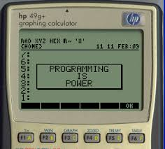 Graphing Calculator With Table An Introduction To Programming Hp Graphing Calculators