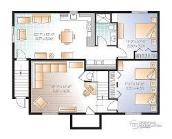 small walkout basement house plans floor best house design small