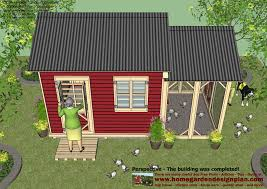 shed plans colonial style cb200 combo plans chicken coop plans