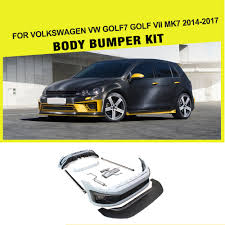 volkswagen polo body kit pu styling car body kits bumper for volkswagen vw golf7 golf vii