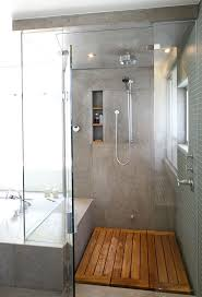 Bathroom Shower Floor Ideas Subway Tile Bathroom Best White Ideas On Gray Floor Wood Wall