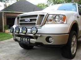 f150 bumper light bar n fab f045lb light bar ford f150 lobo 2004 2008