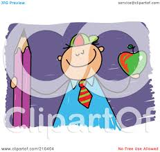 royalty free rf clipart illustration of a childs sketch of a