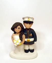 custom marine wedding cake topper custom military wedding cake