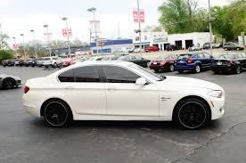 2012 bmw 528i xdrive white sport sedan car sale