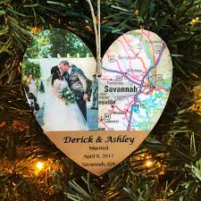 Personalized Wedding Ornament Image Collection First Christmas Married Ornament All Can
