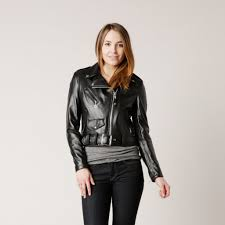ladies motorcycle leathers schott women u0027s leather perfecto in black schott 218w brooklyn