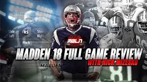 madden 18 full game review youtube