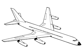 airplane coloring free printable coloring pages