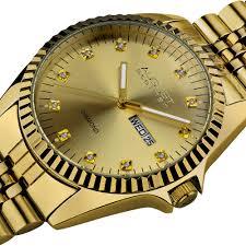 diamond stainless steel bracelet images August steiner men 39 s diamond stainless steel bracelet watch jpg
