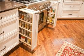decorating enticing white pull out spice racks for cabnets