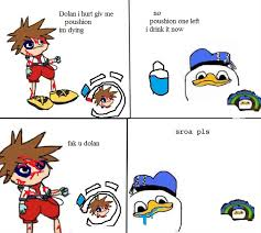 Dolan Duck Meme - clipart