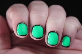 sparkly green black st patricks day water marble nail art marias