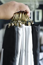Curtain Hooks With Clips How To Use Curtain Clips To Hang Curtains Monica Wants It