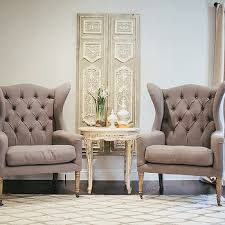 Contemporary Wingback Chair Design Ideas White And Gray Living Room Accent Chairs Design Ideas For