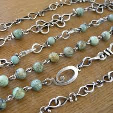 chain link necklace patterns images A really good tutorial on chain making metal smithing art and jpg
