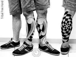 tattoo tribal na perna masculina griffe tattoo tattoo tribal