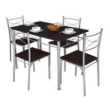 ensemble table et chaise de cuisine pas cher ensemble repas complet table 4 chaises prix discount 129