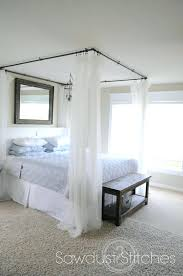 diy canopy bed curtains diy canopy bed curtain rods universalphysics info