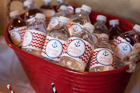 Nautical Themed Giveaways - nautical party for a first birthday