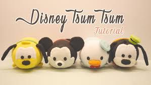 diy disney tsum tsum plushies mickey mouse donald duck goofy