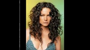 long layered hairstyles for thick curly hair hairstyle picture magz
