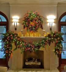 decor mantle garland traditional dallas by