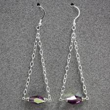 easy earrings swarovski trapeze earrings easy tutorial bead world
