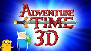 adventure time adventure time in amazing 3d youtube