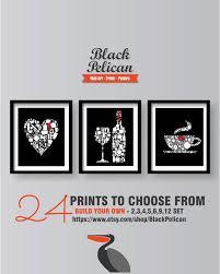 black and white prints for kitchen black kitchen decor kitchen wall kitchen prints set of 3 prints kitchen poster black and white kitchen prints kitchen decor