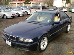 bmw orient blue metallic 2000 orient blue metallic bmw 7 series 740i sedan 58238499