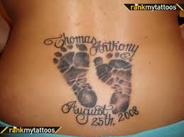 i am really looking to get a footprint in honor of my