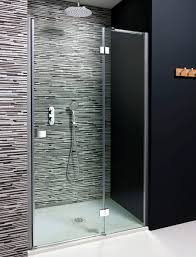 Shower Doors 1000mm by Simpsons Design Hinged Shower Door With Inline Panel Uk Bathrooms