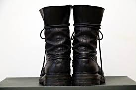 ann demeulemeester combat boots size 9 boots for sale grailed