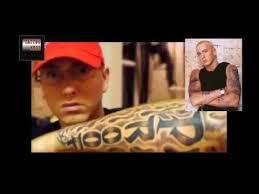 eminem tattoos youtube