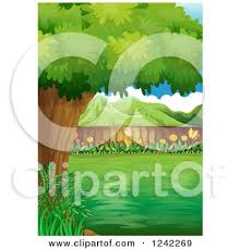 Backyard Clip Art Royalty Free Rf Back Yard Clipart Illustrations Vector Graphics 1
