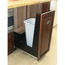 pull out trash can for 12 inch cabinet trash cans trash or recycling cabinet with trash cans by imperial